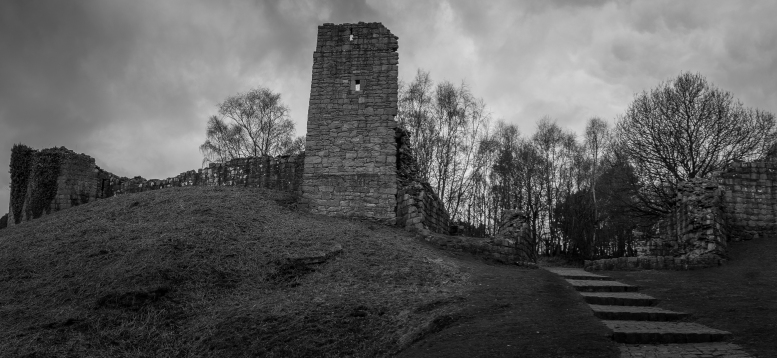 Ruined Tower - Beeston Castle, Cheshire, England