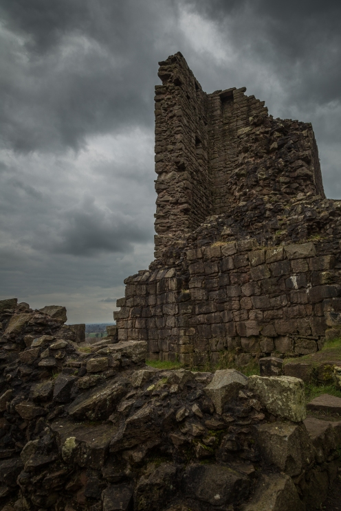 Castle Ruins - Beeston Castle, Cheshire, England