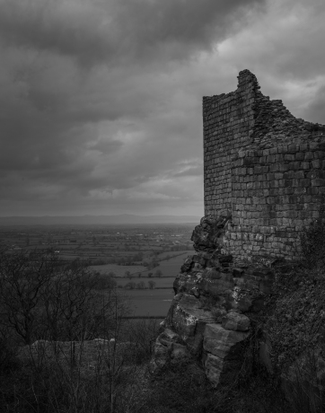 Welsh Overlook - Beeston Castle, Cheshire, England