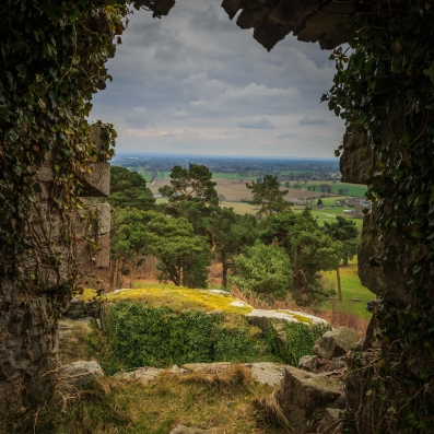 View from the Castle - Beeston Castle, Cheshire, England