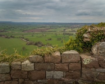 Country Viewpoint - Beeston Castle, Cheshire, England