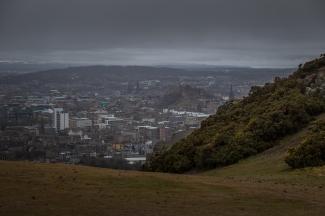 View of Edinburgh - Arthur's Seat, Edinburgh, Scotland