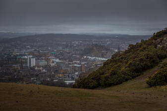 View of Edinburgh - Arthur's Seat, Edinburgh, Scotland