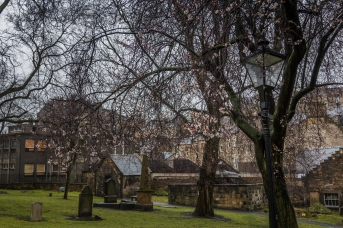Cemetery View - Edinburgh Castle - Edinburgh, Scotland