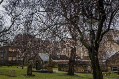 Cemetery View - Edinburgh Castle - Edinburgh, Scotland