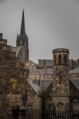 Rooftops - Cemetery View - Edinburgh Castle - Edinburgh, Scotland