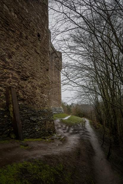 Castle of Monty Python and the Holy Grail - Doune Castle, Scotland