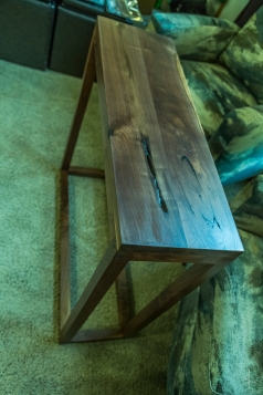 Black Walnut Sofa Table