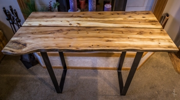 Live-edge Oak Desk/Breakfast Table