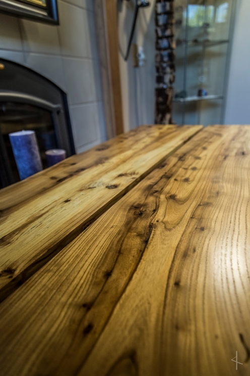 Live-edge Oak Desk/Breakfast Table