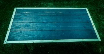 Shou Sugi Ban Charred Cedar Table