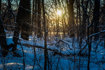 Late Winter Sunset - Waseca, MN