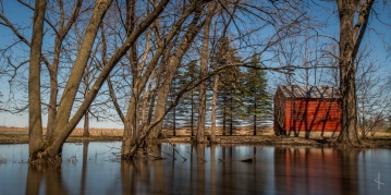 Early Spring Flooding, Waseca - MN