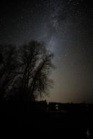 Milky Way over Dora Lake, MN